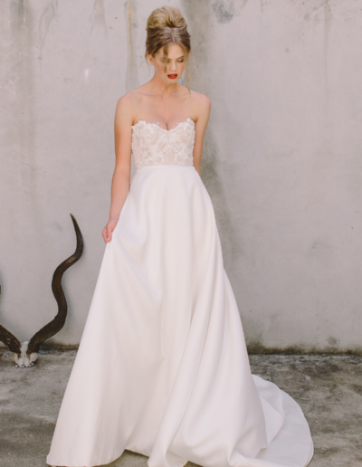 Chanel Corset Annabelle Skirt Gown