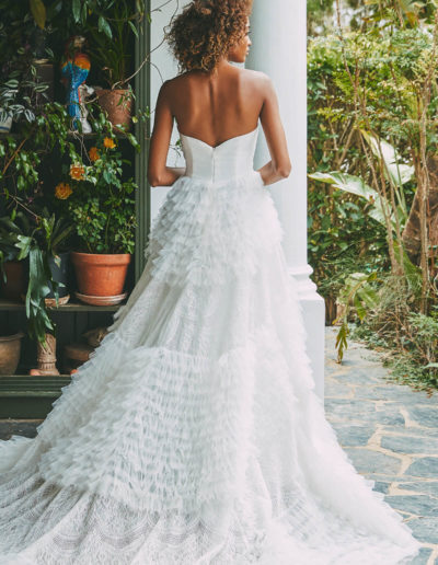 Anouk Gown Back