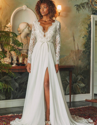 Camelia Gown Front