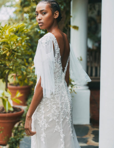 Layla Gown Back