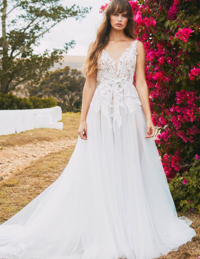 Viola Gown Front
